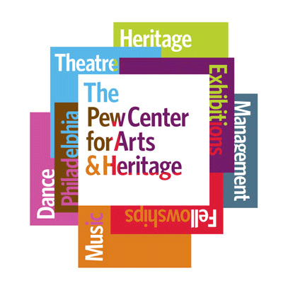 The Pew Center for Arts & Heritage designed by Johnson Banks
