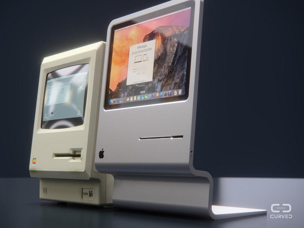 new old iMac 2015