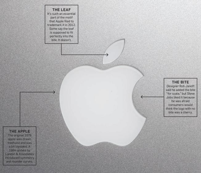 apple logo origins