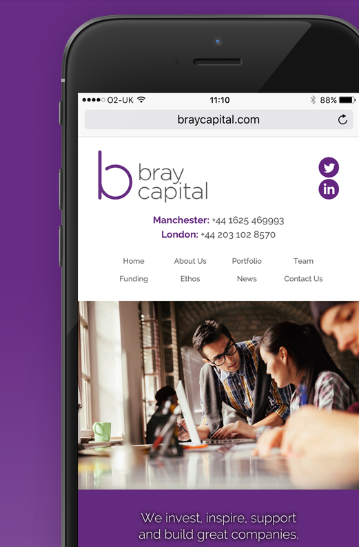 Bray Capital - Branding & Website