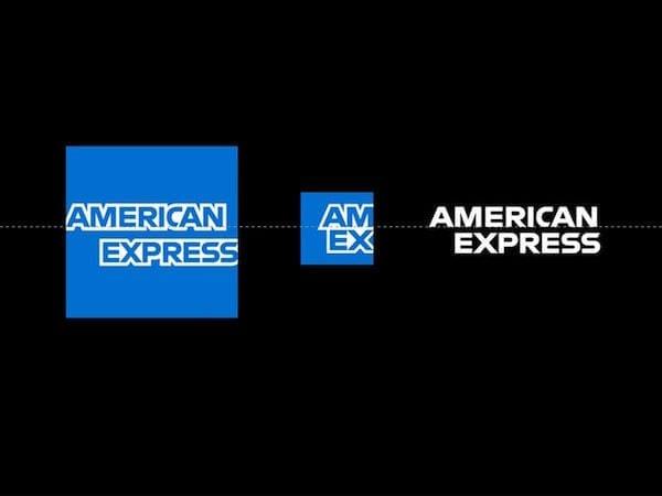 American Express logo design - New identity design