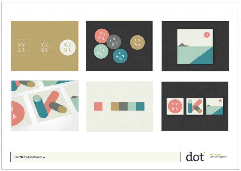 Brand Design Ournet Moodboard