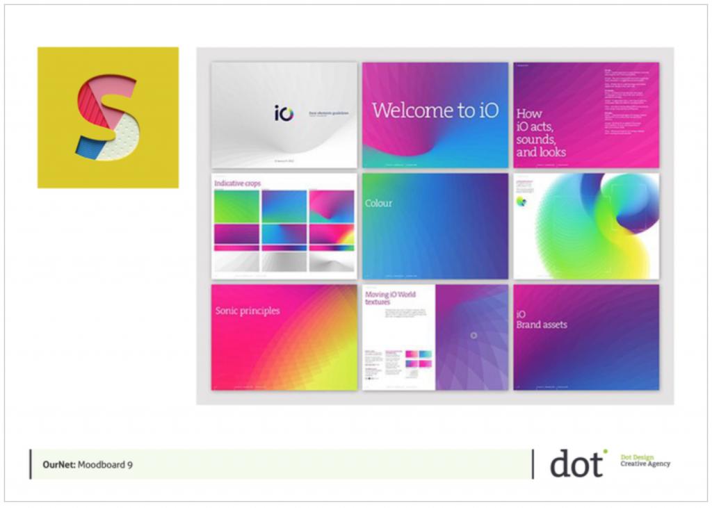 Logo Designer Identity Ournet Moodboard