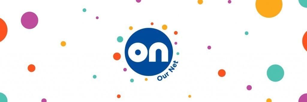 ournet logo design