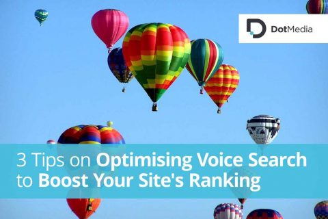 3 Tips on Optimising Voice Search to Boost Your Site's Ranking