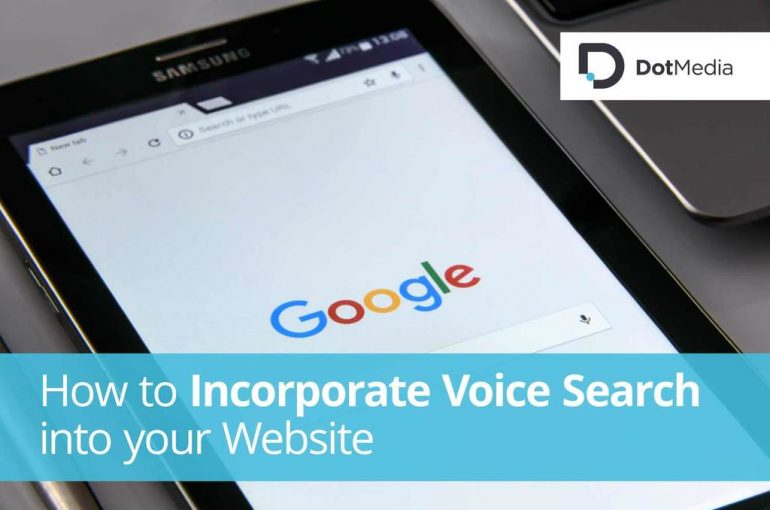 How to Incorporate Voice Search into your Website