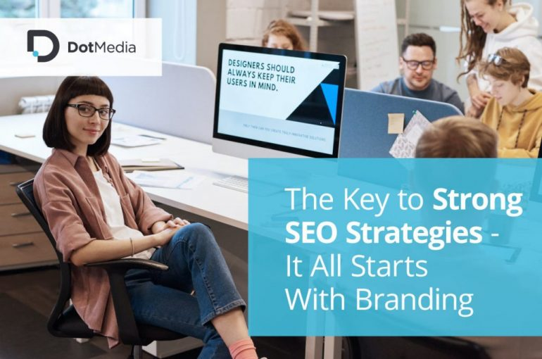 woman in office strong seo