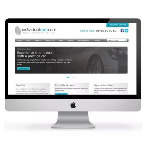 individual-cars-website-design-devon