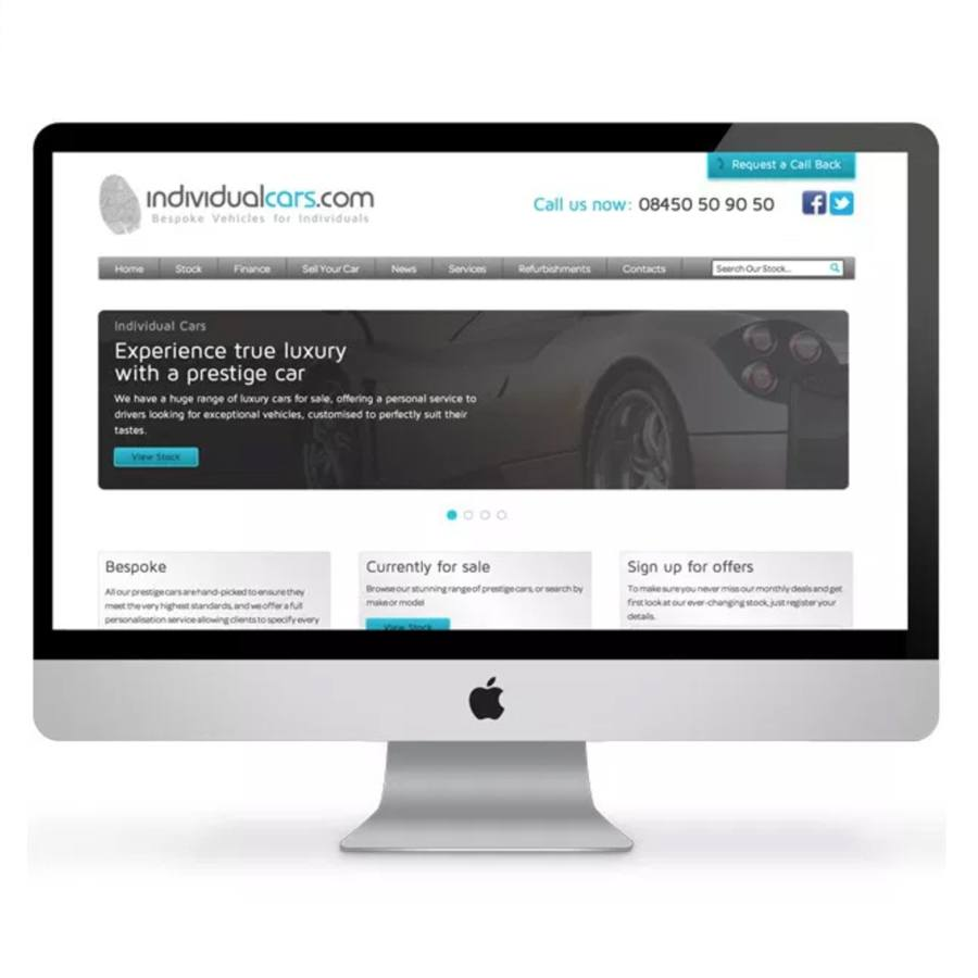 individual-cars-website-design-devon