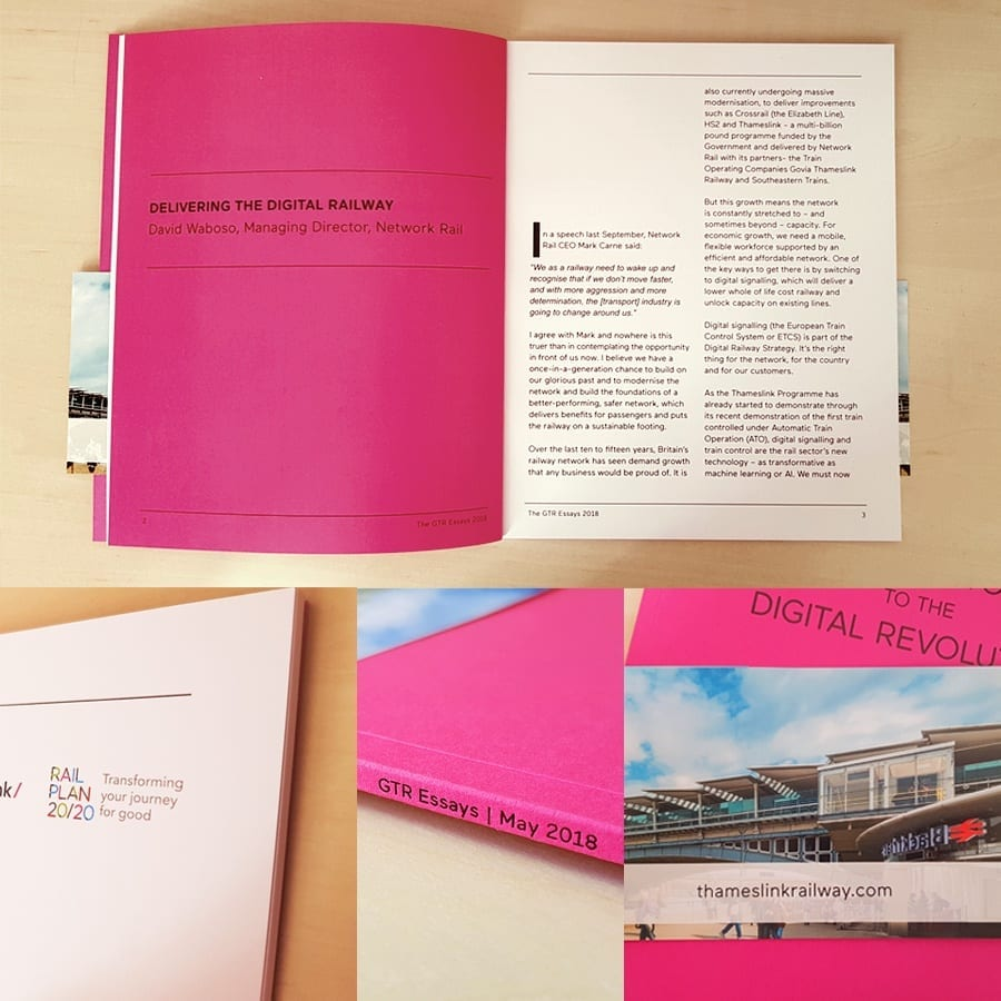 GTR Essays Brochure design