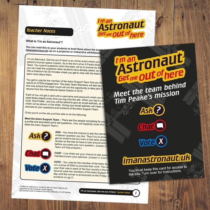 I'm an Astronaunt Print designer devon