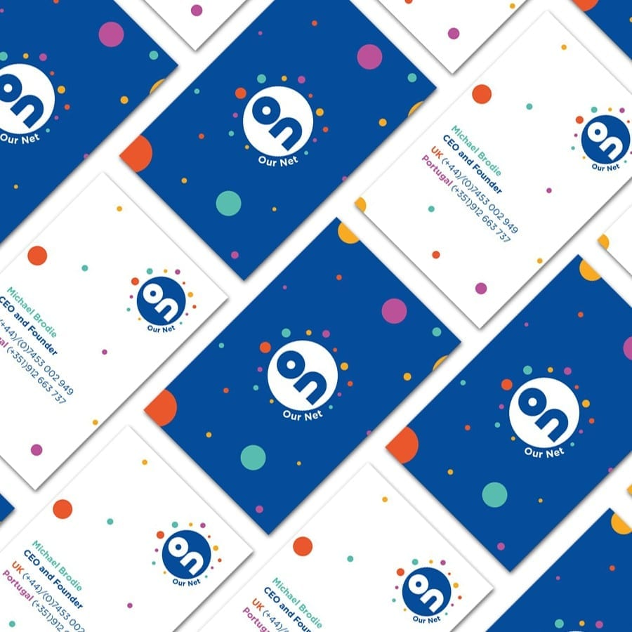 Ournet business cards