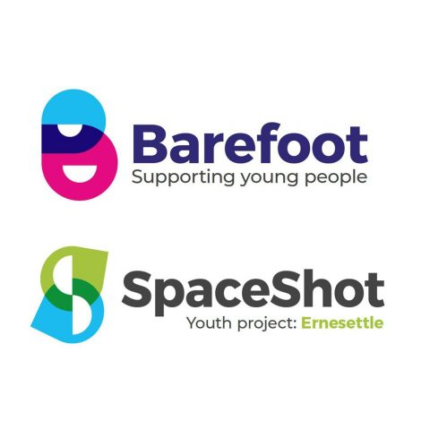 Barefoot and SpaceShot logo designs